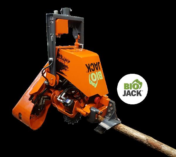 Harvester Aggregat Biojack für Bagger