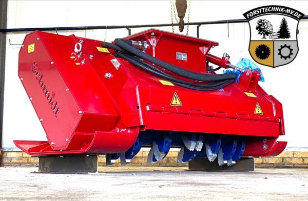 Hydraulikmulcher Schmidt mit Bodeneingriff